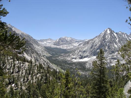 Blick Richtung Forester Pass