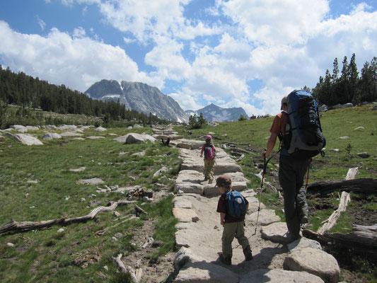 Fletcher Peak in Sicht