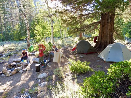 Unser Camp am Aspen Meadow