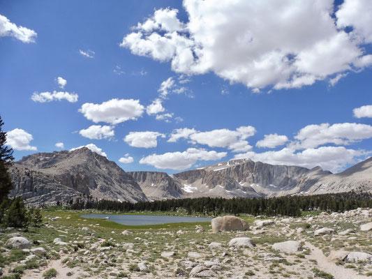 Nicht mehr weit bis zum Long Lake vor New Army Pass