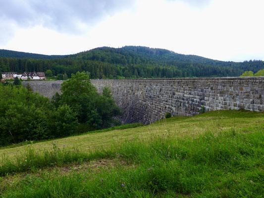 Die Schwarzenbachtalsperre