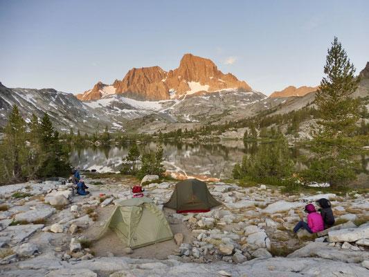 Unser Camp auf der Halbinsel in Garnet Lake