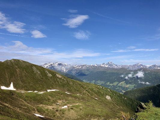 Blick Richtung Padauner Berg.