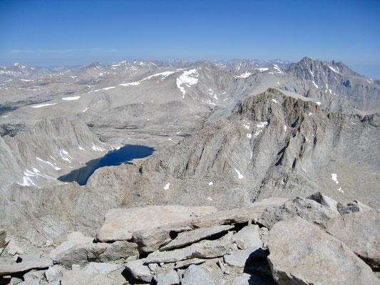 Eine schier unendliche Bergwelt