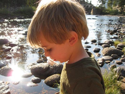 Wasser hat eine magische Kraft und ist ein perfekter Abschluss eines langen Tages