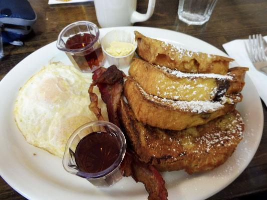 Der Tag und die Tour starteten mit einem super leckeren Frühstück