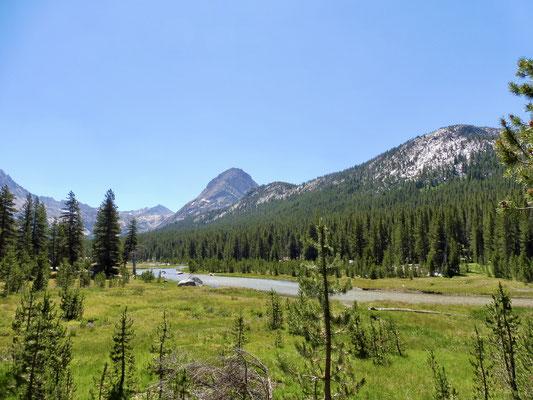 McClure Meadow in der Nähe der Ranger Station