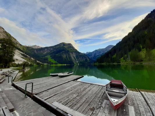 Zum Abschluss der Blick über den See