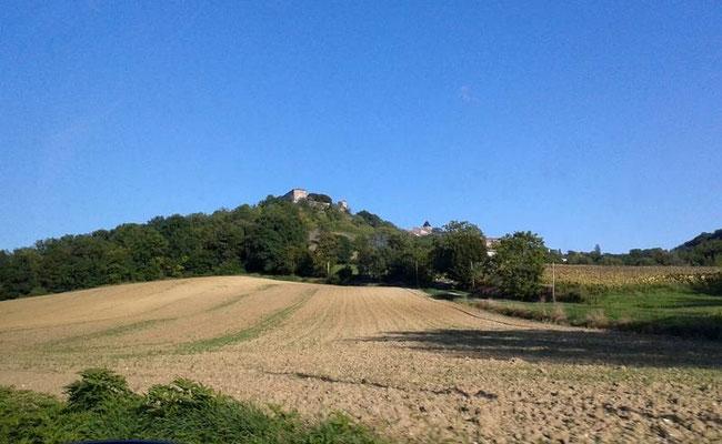 Maison forte de Beauville (Lot et Garonne)  - photo A-M Uyttenbroeck