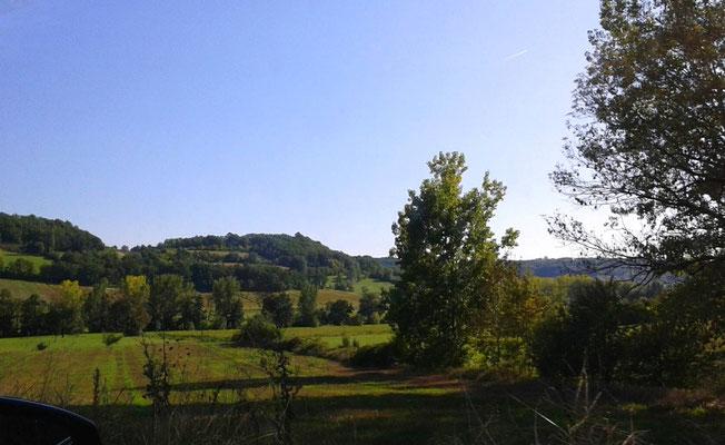 Paysage du Lot et Garonne - photo A-M Uyttenbroeck