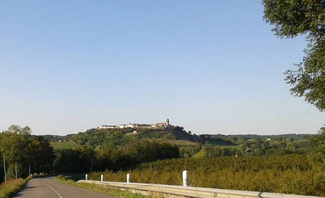 La bastide royale de Tournon d'Agenais - photo A-M Uyttenbroeck