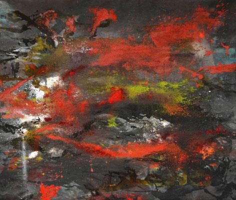 bushfire_1, 120 x 140 cm