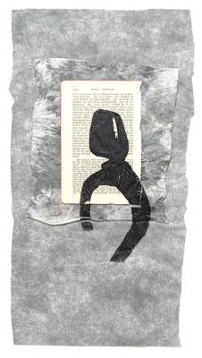 ohne Titel, 2019, Materialdruck, 60 x 30 cm