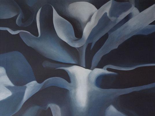 BLUE 2015, Acrylmalerei, 60 x 80 cm