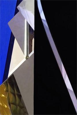 """""""Gegenläufig"""", 2019, Fotografie auf Alu-Dibond, 100x70cm"""