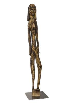 Mädchen. Eiche. E. J. 2019. 115 x 20 x 15 cm