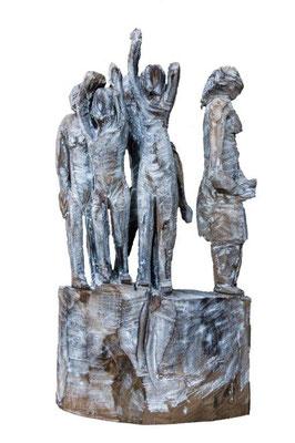 Mütter. Ulme. E. J. 2018. 130 x 80 x 23 cm