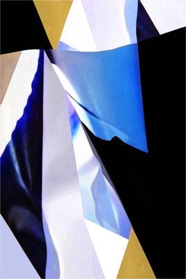 """""""Dahinter"""", 2018, Fotografie auf Alu-Dibond, 100x70 cm"""