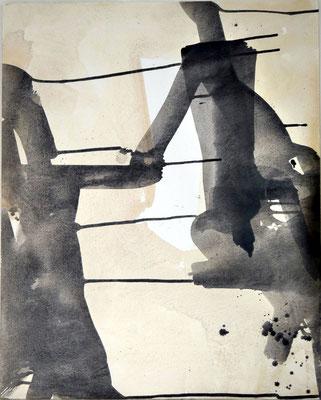 """Willkommen"", Acryl auf Leinwand, 100 x 80 cm, 2016"