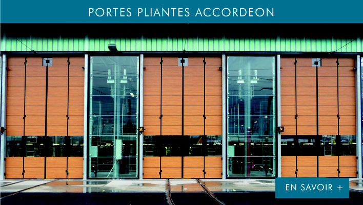 PORTES PLIANTES ACCORDEON