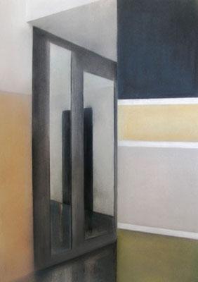 II Raum, 2013, 70cm x 100cm, Pastell auf Finnpappe