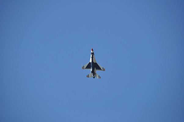 un F-16 des Thunderbirds