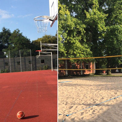 Ballcourt molten Basketball Ball streetball street Beachvolleyball beachen beachvolleyballplatz