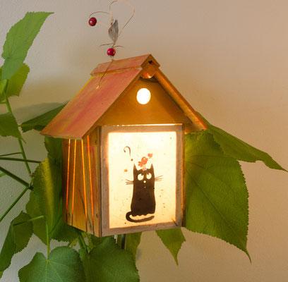 Vogelhaus Katze