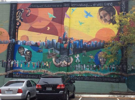 Streetart in Seattle