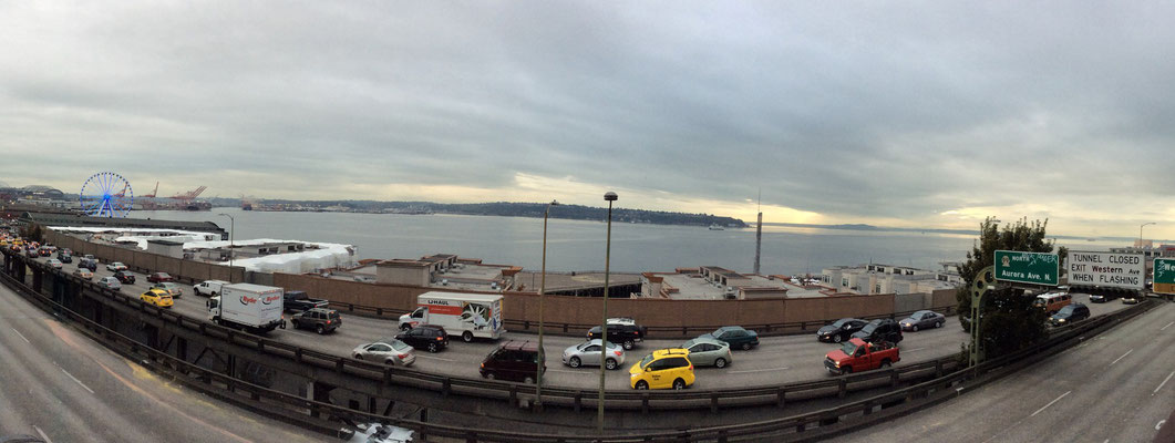View over the Puget Sound
