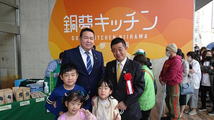 自由民主党愛媛県第3選挙区支部長 井原巧さん