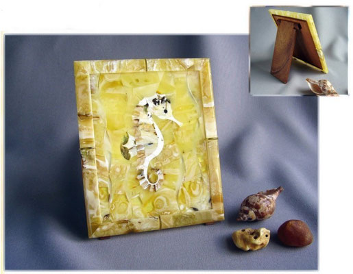 """панно """"Морской конёк"""" работа находится в фондах музея Мирового Океана. 2005"""