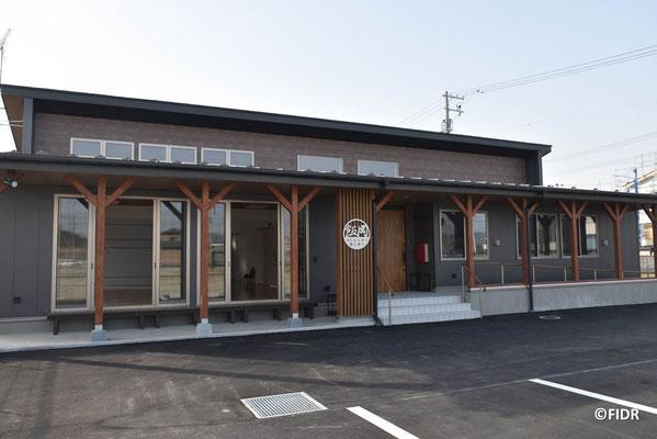 完成した飯岡コミュニティセンター