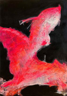 """""""Flieg 1"""" 2018 - 50 x 70 cm"""