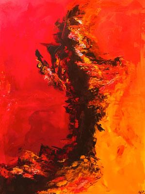 """""""Woher"""" 2009 - 60 x 80 cm"""