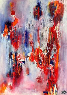 """""""Reflexion"""" 2018 - 50 x 70 cm"""
