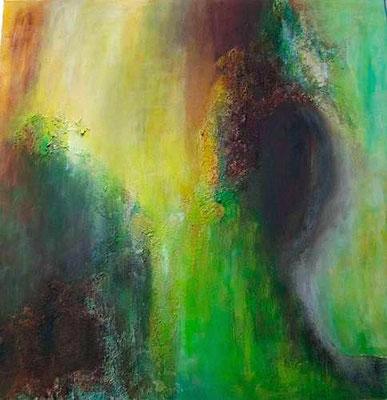 """""""The First"""" 2009 - 60 x 60 cm (verkauft)"""
