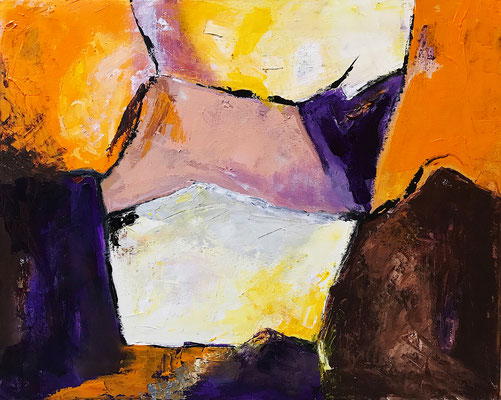 """""""Unentschlossenheit"""" 2009 - 40 x 50 cm"""