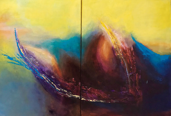 """Transformation"" 2011 - 120 x 80 cm (Duo)"