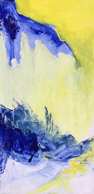 """""""Annäherung"""" 2010 - 15 x 30 cm"""