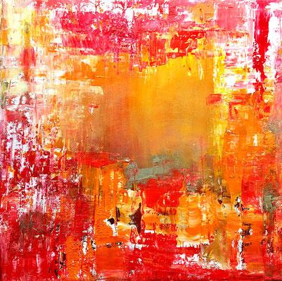 """""""Aussicht"""" 2017 - 40 x 40 cm"""