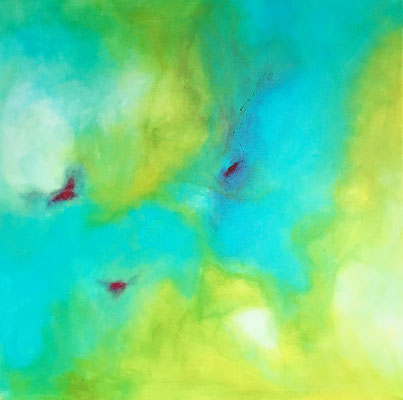 """Geheimnis"" 2017 - 60 x 60 cm"