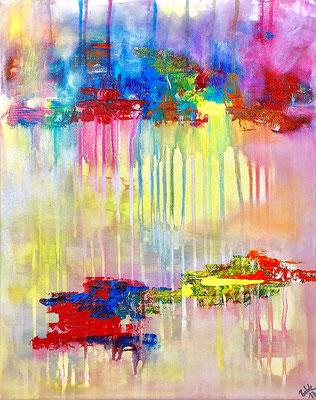 """""""Rain in Paradise"""" 2017 - 30 x 40 cm"""