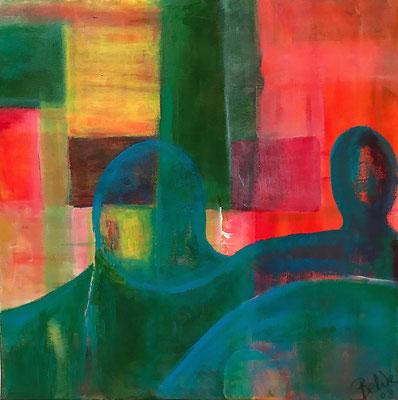 """""""Befreiung des Geistes"""" 2008 - 50 x 50 cm"""