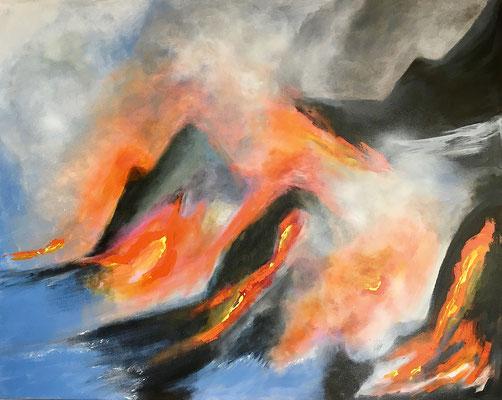 """4 Elemente"" 2017 - 100 x 80 cm"