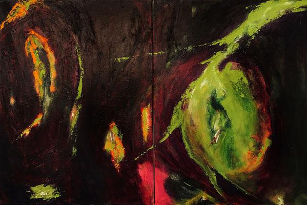 """""""Vertigo"""" 2013 - 120 x 80 cm (Duo)"""