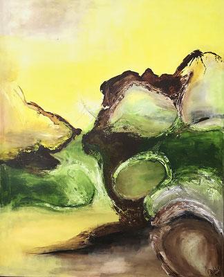 """""""Zuflucht"""" 2010 - 80 x 100 cm"""