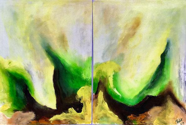 """""""The Seconds"""" 2009 - 60 x 40 (verkauft)"""