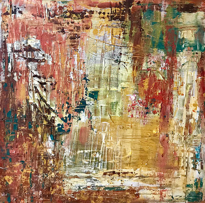 """Chaos"" 2008 - 40 x 40 cm"