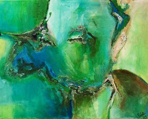 """Richtiger Riecher"" 2009 - 50 x 40 cm"